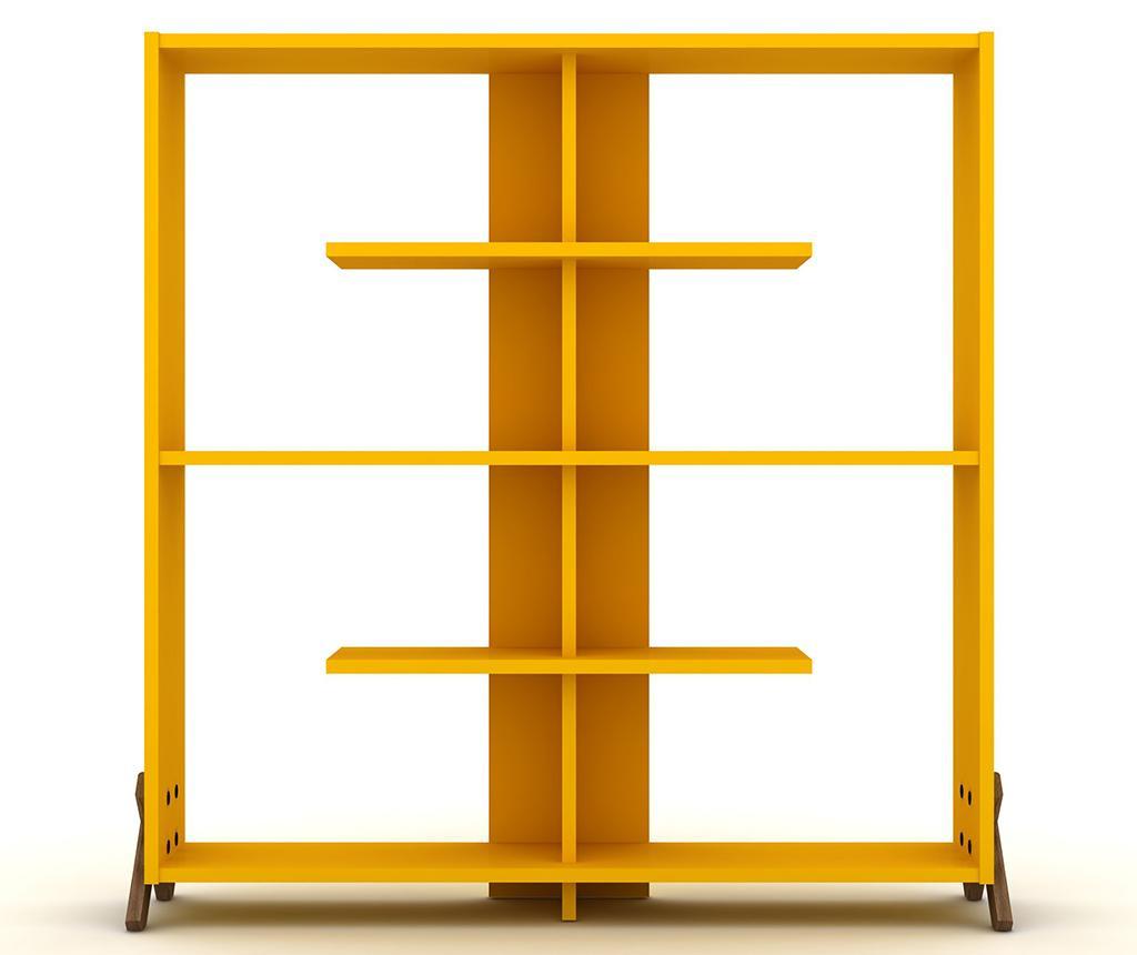 Βιβλιοθήκη Kipp Walnut Yellow