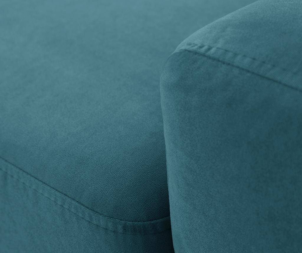 Narożnik prawostronny Georgia Turquoise