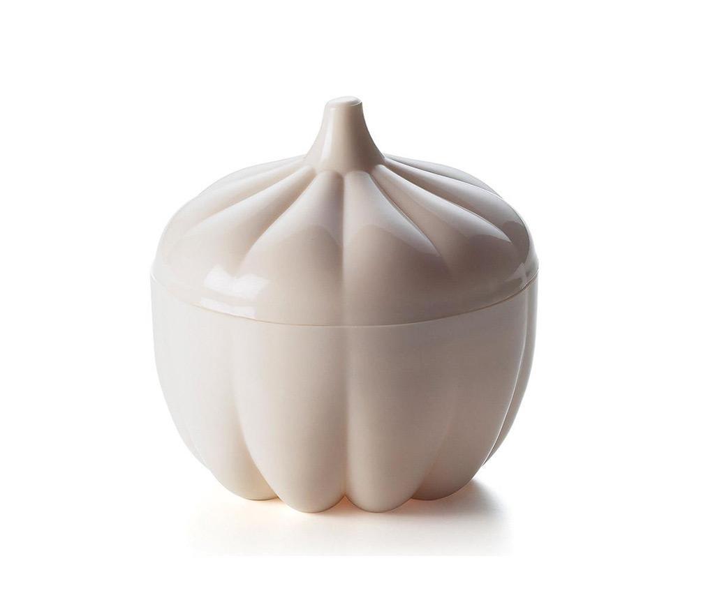 Recipient cu capac pentru usturoi Allium