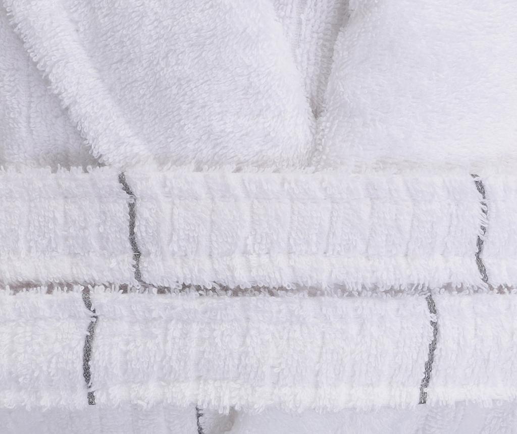 Kupaonski ogrtač unisex Camden White Grey L/XL