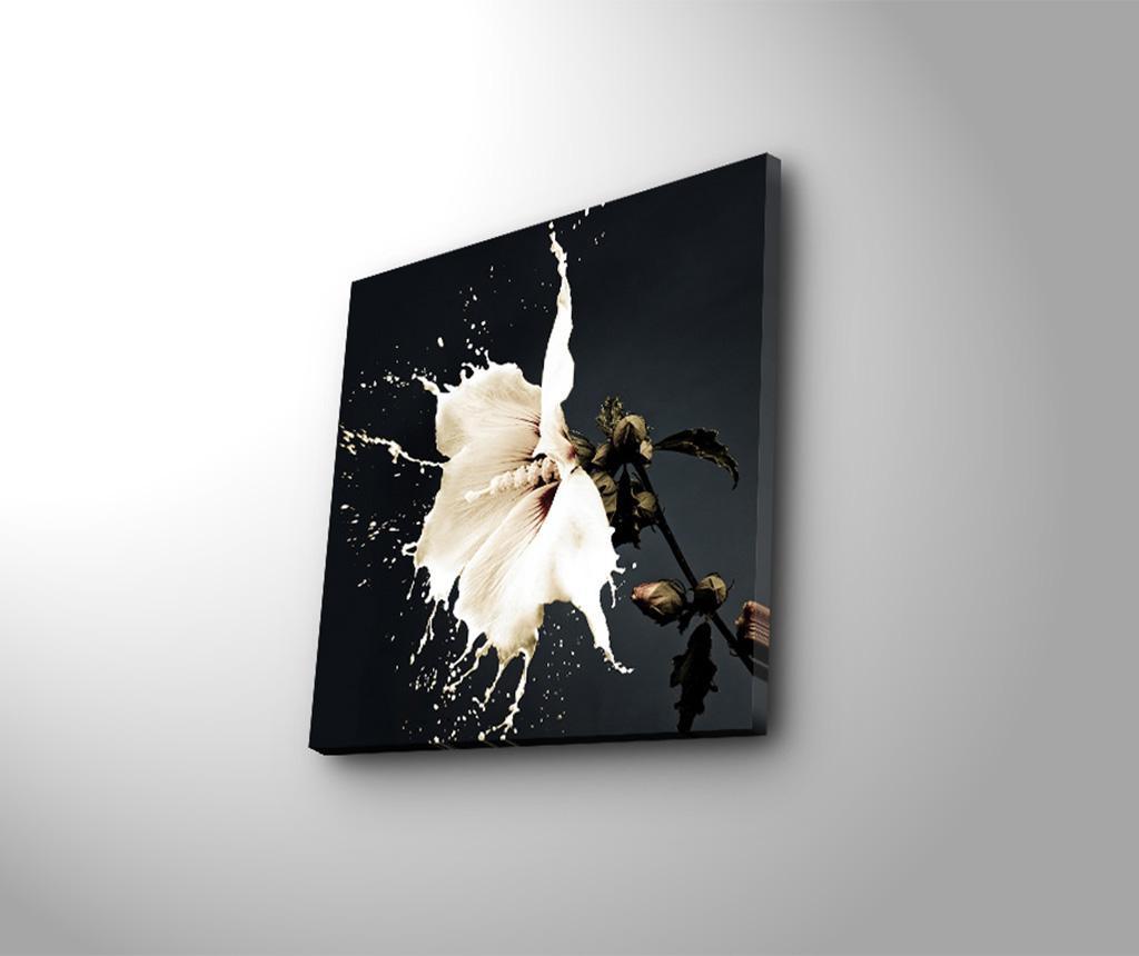 Tablou Liquid Flower 45x45 cm