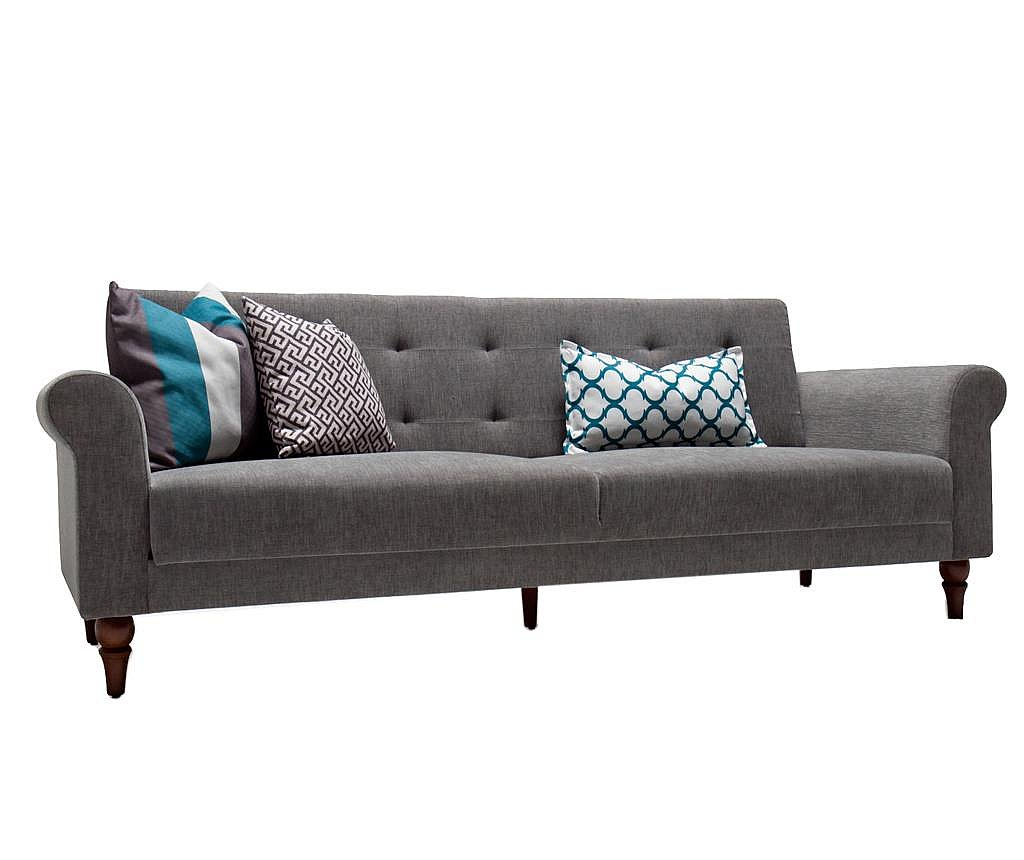 Rozkładana kanapa 3-osobowa Madona Grey