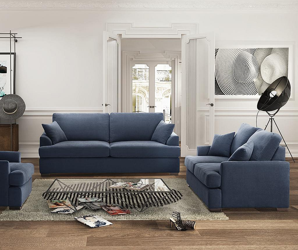 Kauč dvosjed Irina Navy Blue