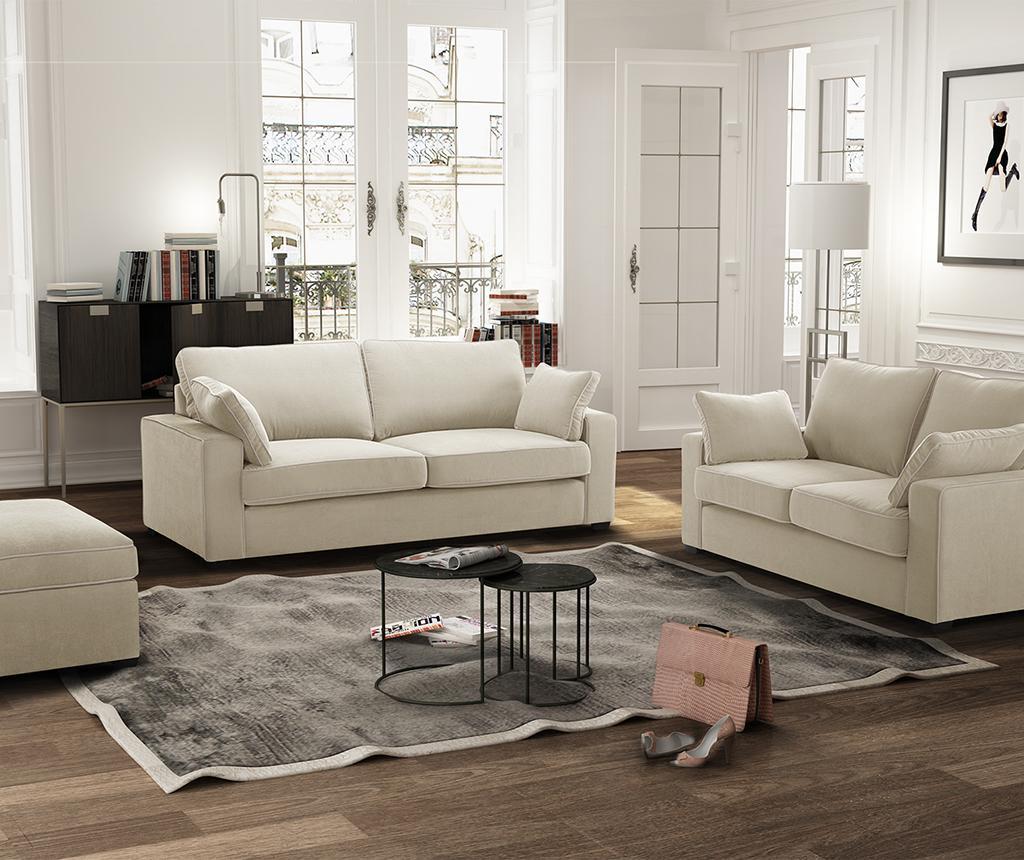 Canapea 3 locuri Serena Cream