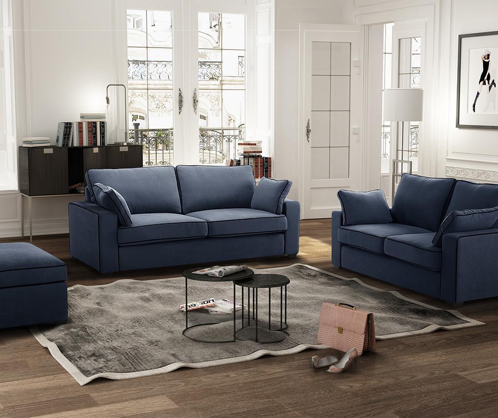 Canapea 3 locuri Serena Navy Blue