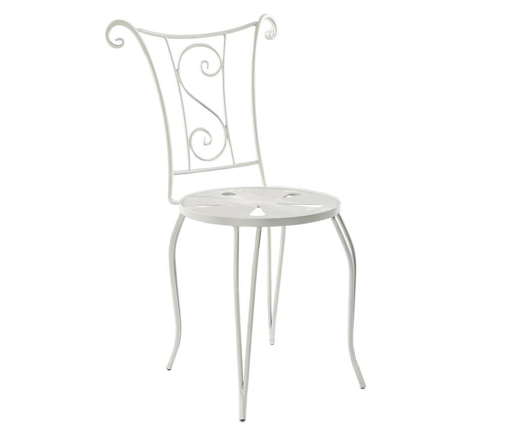 Krzesło ogrodowe Septema White