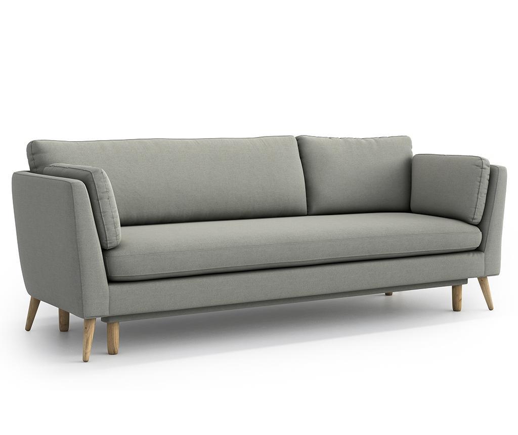 Canapea extensibila 3 locuri Jane Olaf Light Grey