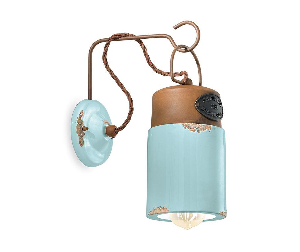 Aplica de perete Industrial Lantern Blue