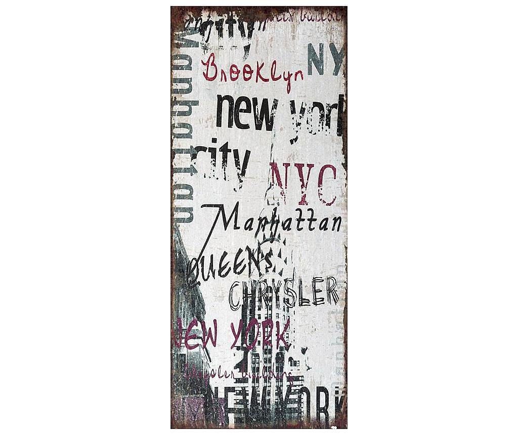 Tablou New York 30x70 cm