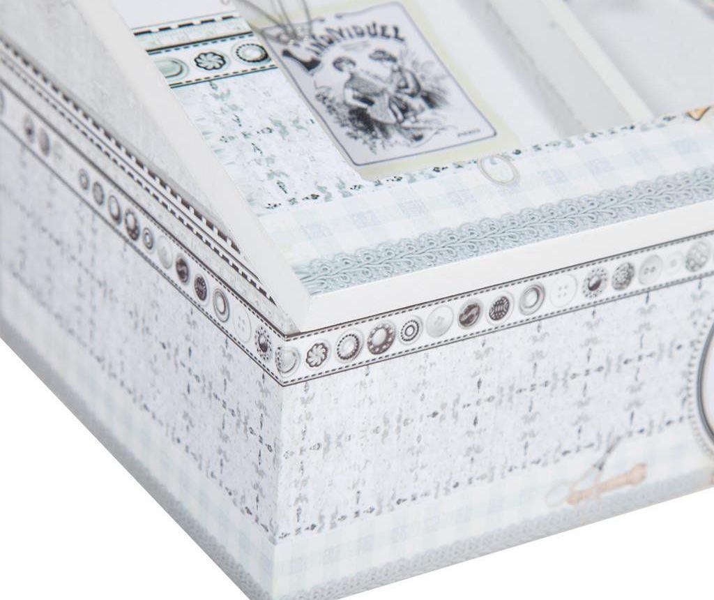 Kutija za šivaći pribor s poklopcem Romantic Paris