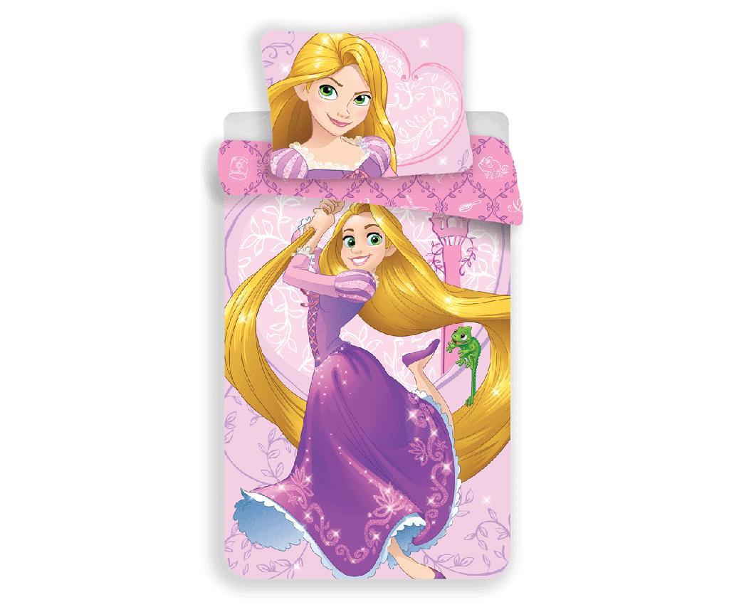 Set de pat Single Ranforce Disney Princess Rapunzel