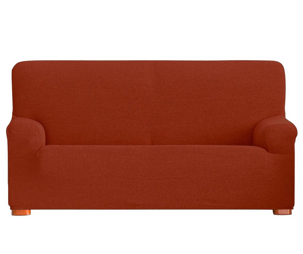 Dopasowany pokrowiec na kanapę Dorian Dark Orange 180-210 cm