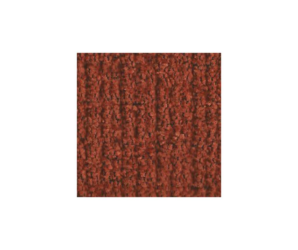 Zestaw 2 elastycznych pokrowców na krzesło Dorian Dark Orange Backless 40x40 cm