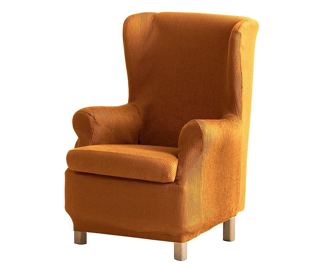 Pokrowiec na fotel Ulises Orejero Mustard 70x60x90 cm