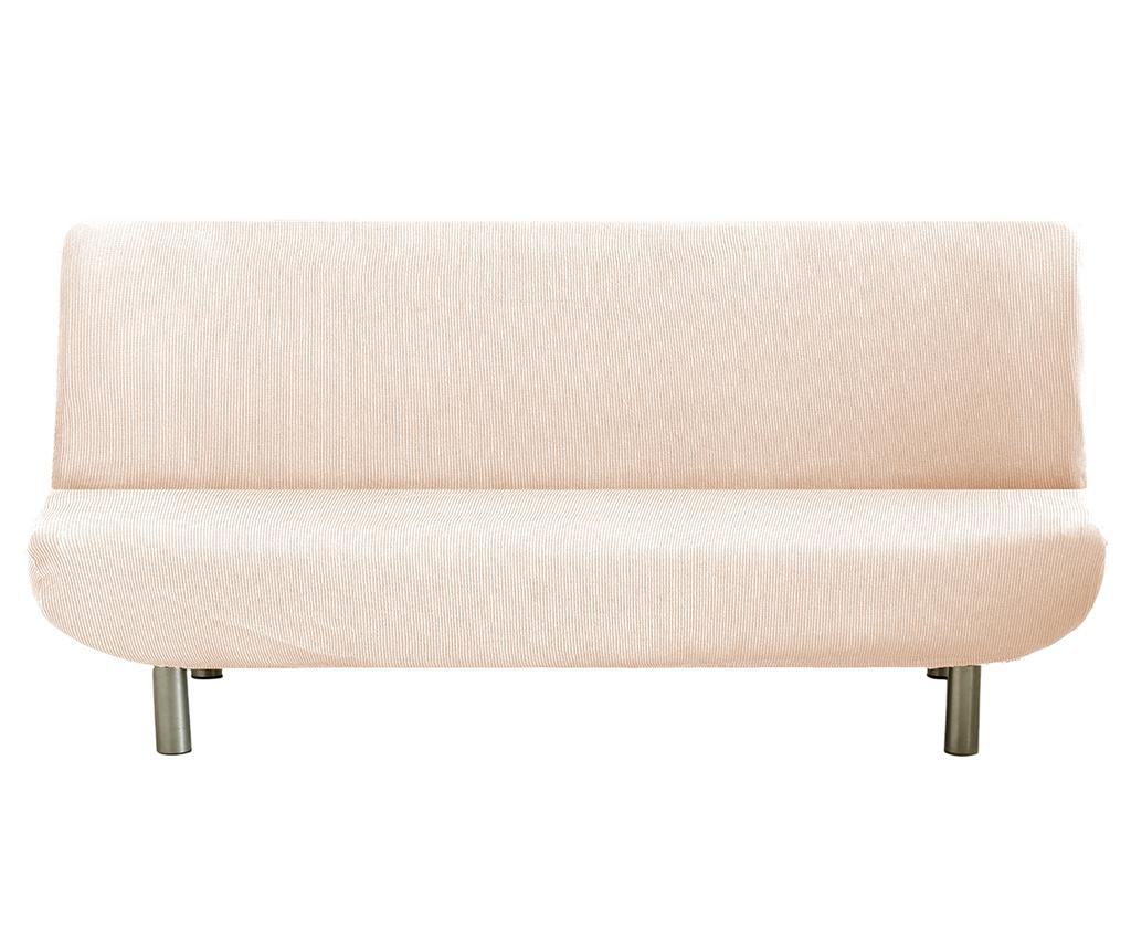 Elastična navlaka za kauč Ulises Clik Clak Ecru 180x118 cm