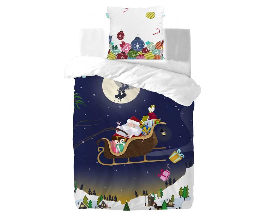 Set de pat Single Merry Christmas