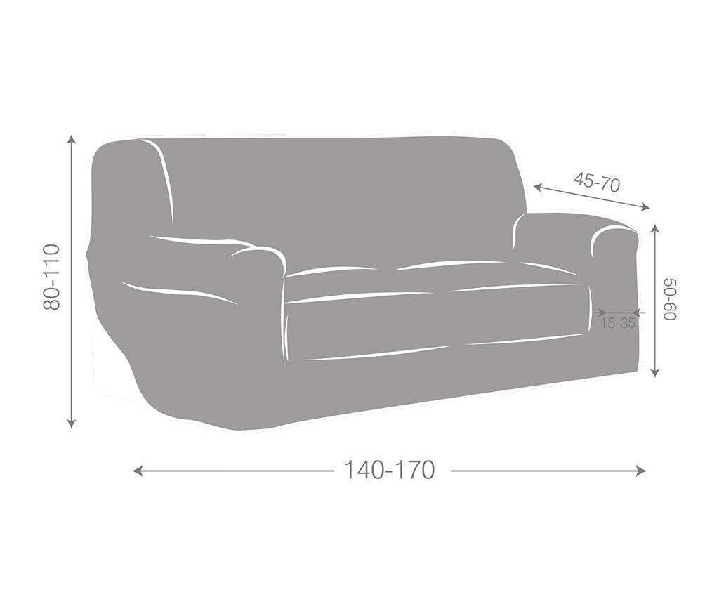 Elastična navlaka za kauč Ulises Beige 140x45x50 cm