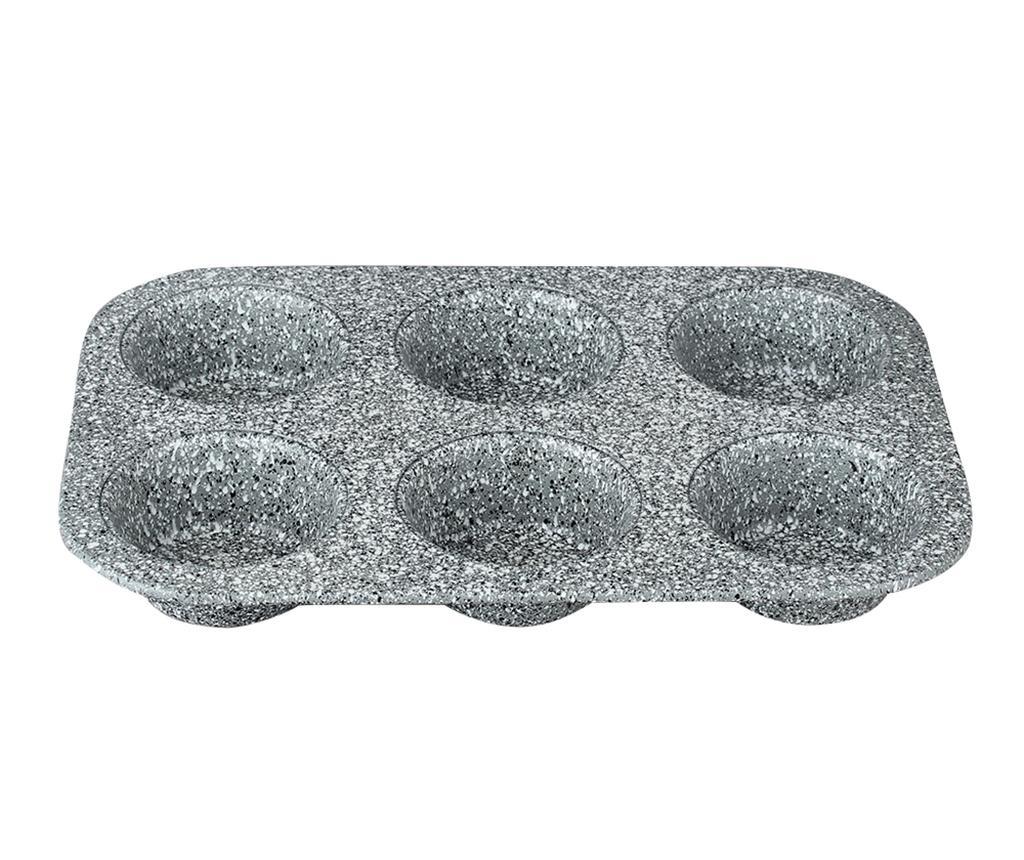 Tava de copt 6 briose Stone Touch