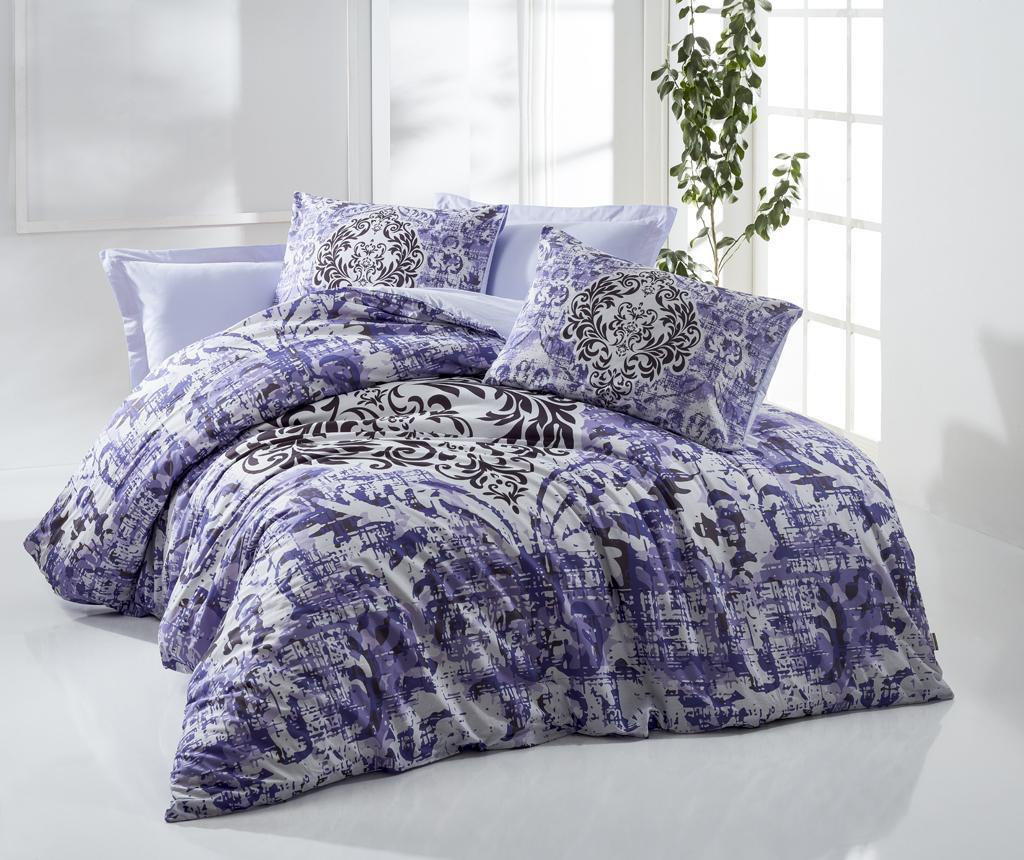 Set de pat Double Ranforce Dama Purple