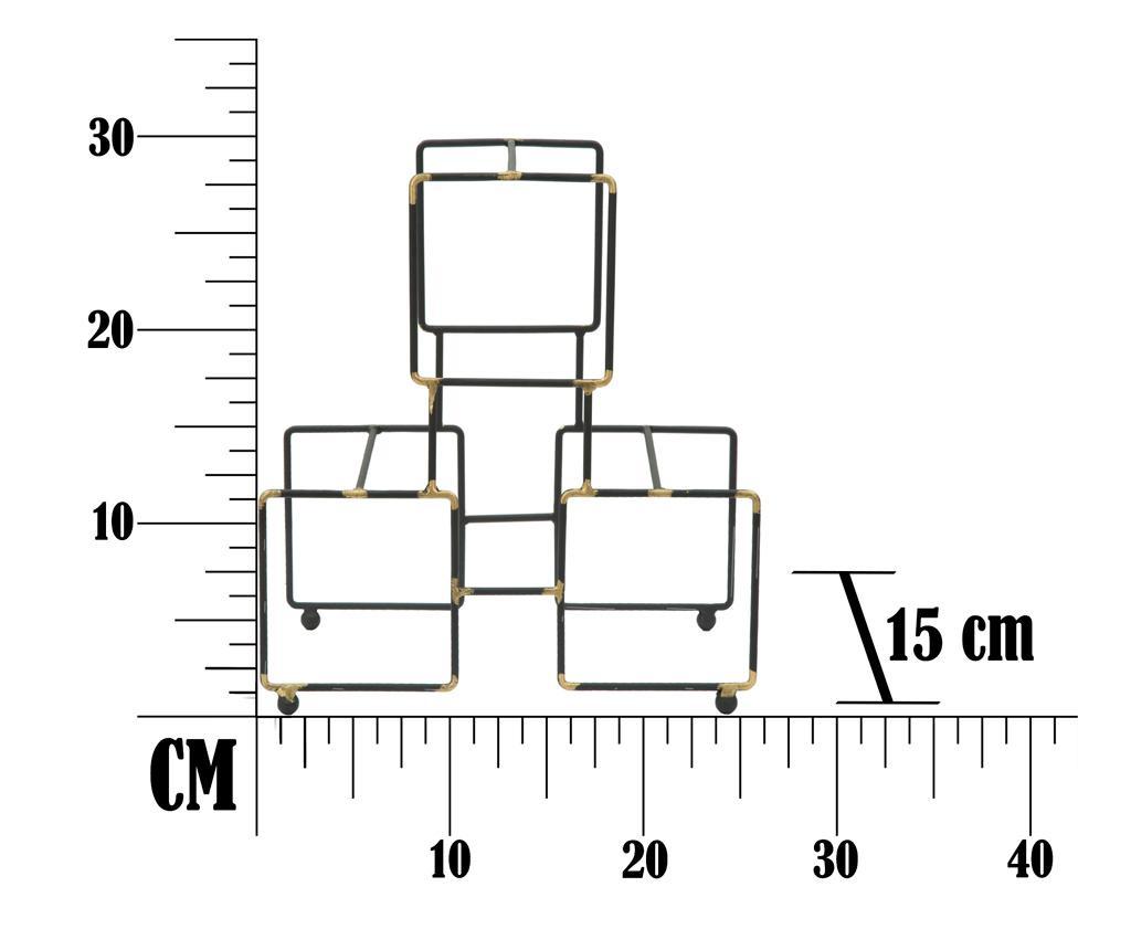 Suport pentru sticle Geometric