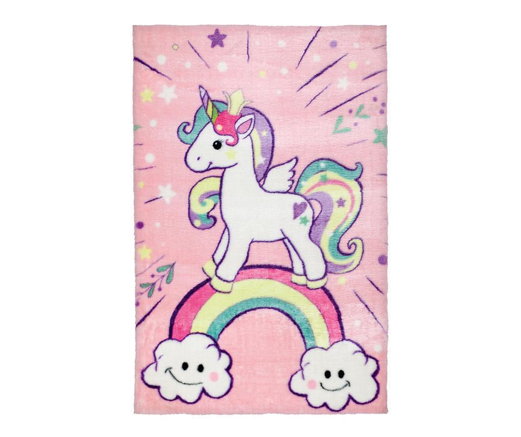 Tepih Over The Unicorn Rainbow 90x130 cm