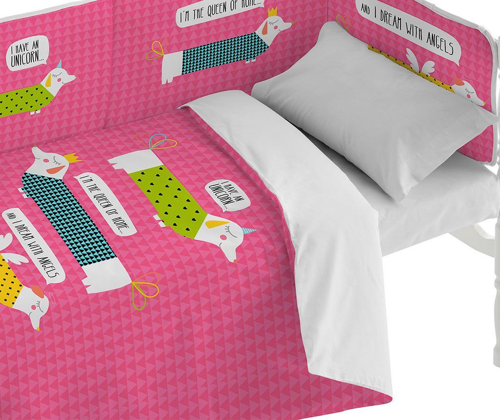 Posteljina za krevetić You Are Pink