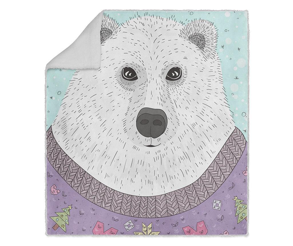 Pokrivač Cool Bear 130x160 cm