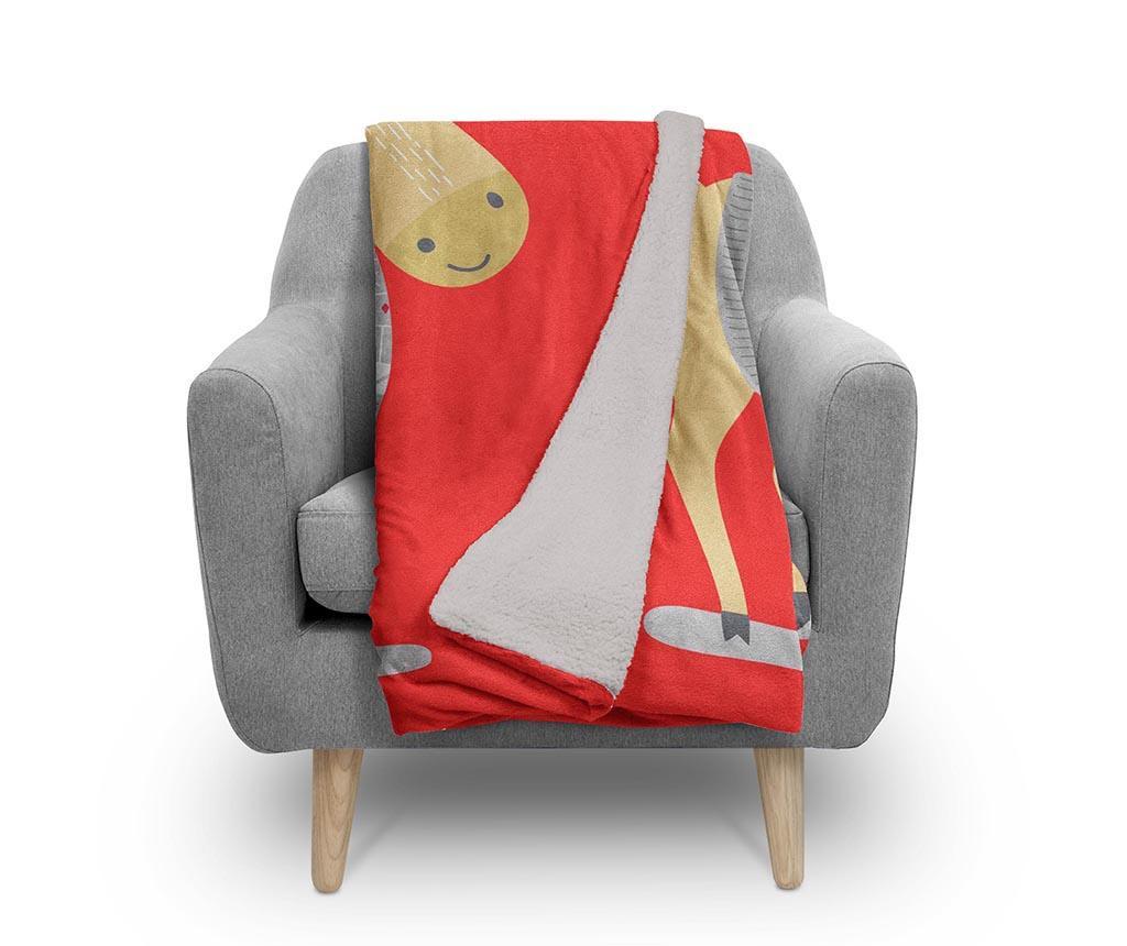 Pokrivač Warm Reindeer 130x160 cm