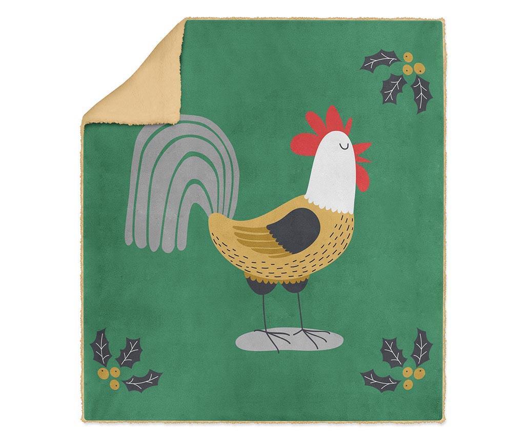 Pokrivač Cock-a-doodle-doo 130x160 cm