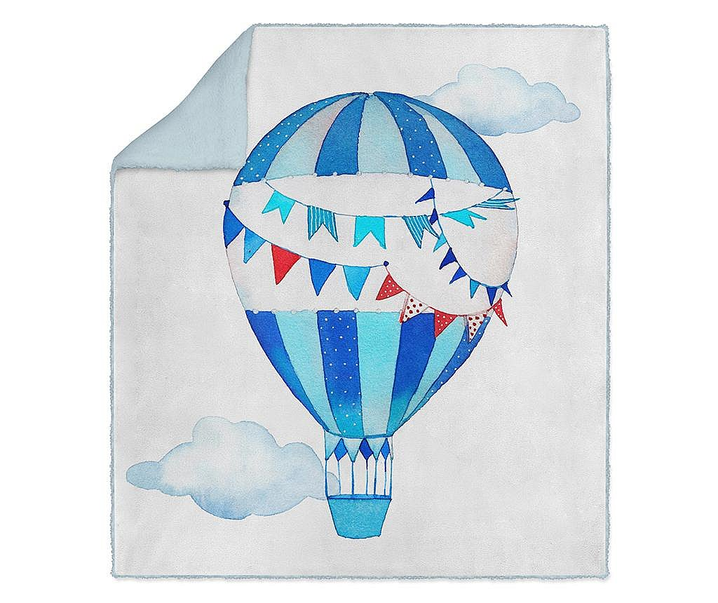 Pokrivač Blue Balloon 130x160 cm