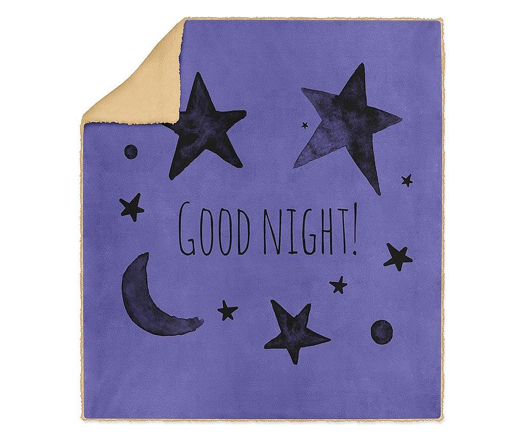 Pokrivač Good Night 130x160 cm