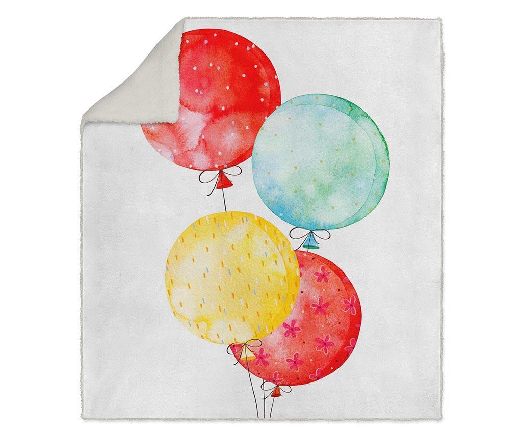 Pokrivač Balloons 130x160 cm