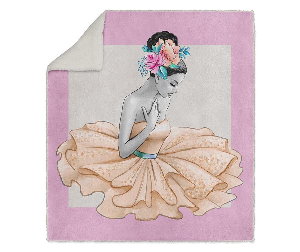 Pokrivač Flower Ballerina 130x160 cm