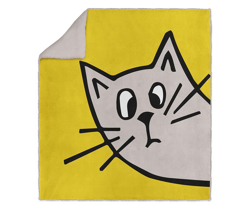 Pokrivač Wandering Cat 130x160 cm