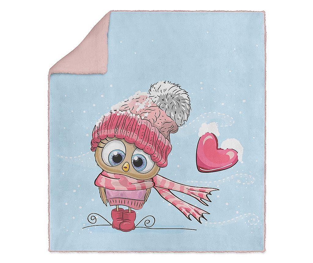 Pokrivač Winter Love 130x160 cm