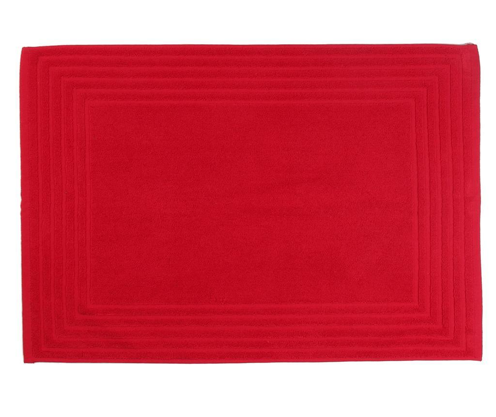 Dywanik łazienkowy Alfa Red 50x70 cm