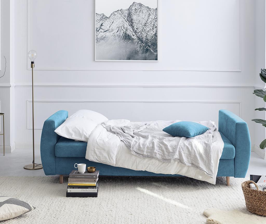 Rozkładana kanapa trzyosobowa Orchid Blue