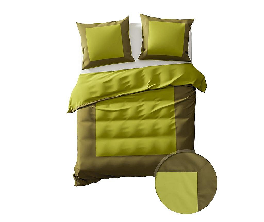 Set de pat King Percale Extra Lina Green Oasis