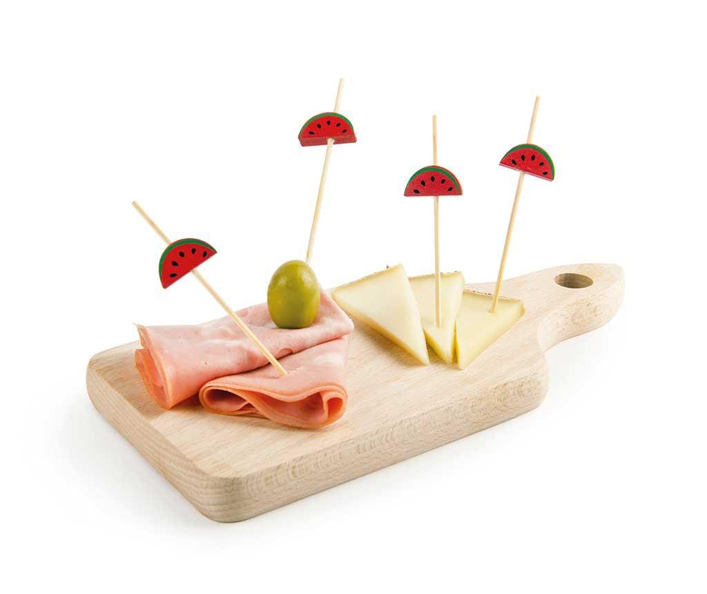 Set 25 betisoare pentru aperitive Funny Party Watermelon