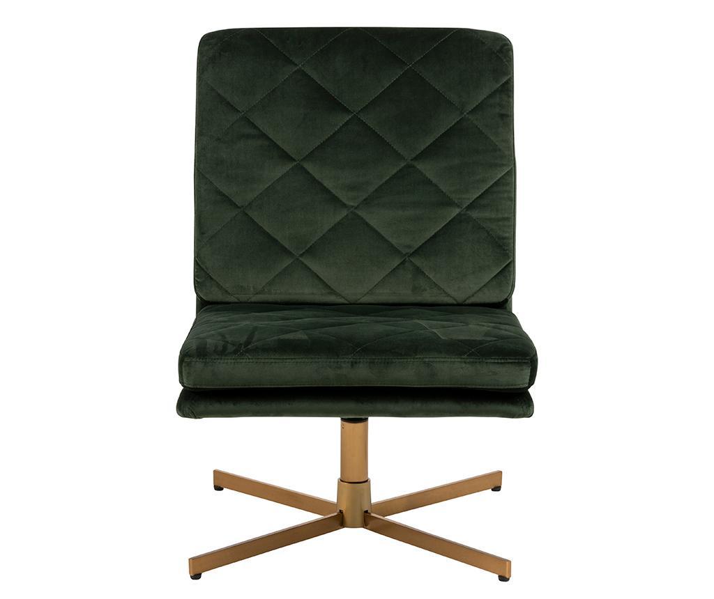 Περιστρεφόμενη καρέκλα Carrera Dark Green