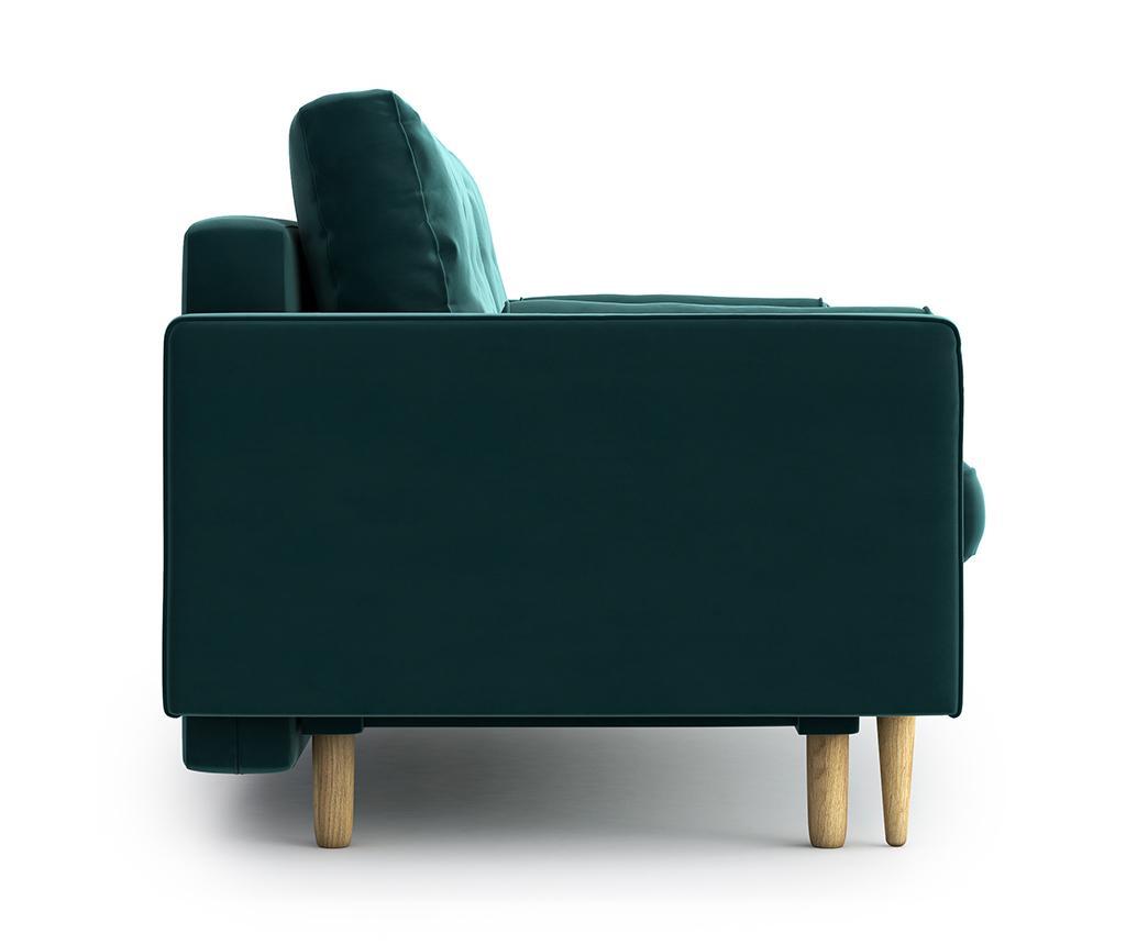 Canapea extensibila 3 locuri Esme Riviera Turquoise
