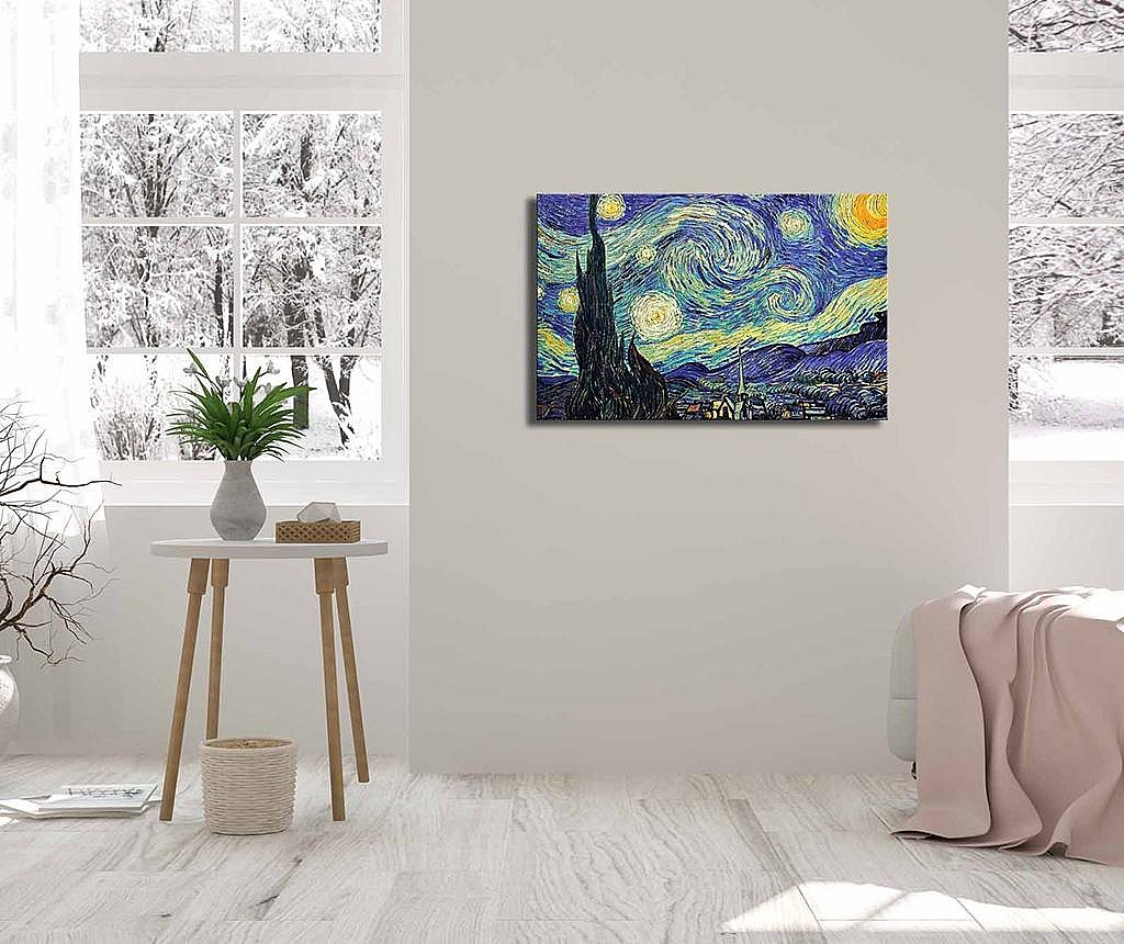 Tablou Starry Night 45x70 cm