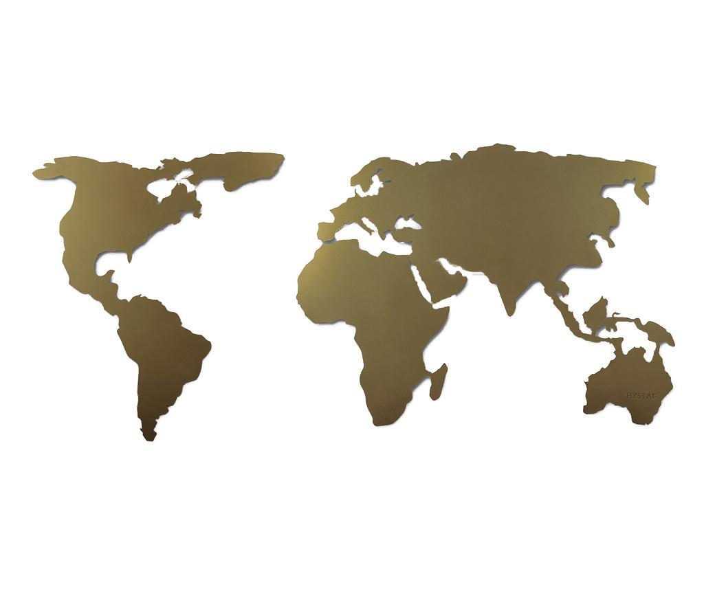 Decoratiune de perete World Gold