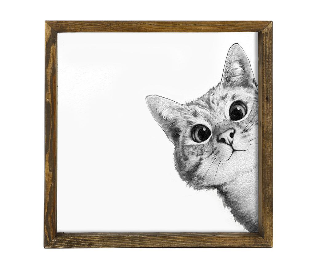 Obraz Curiousity 34x34 cm