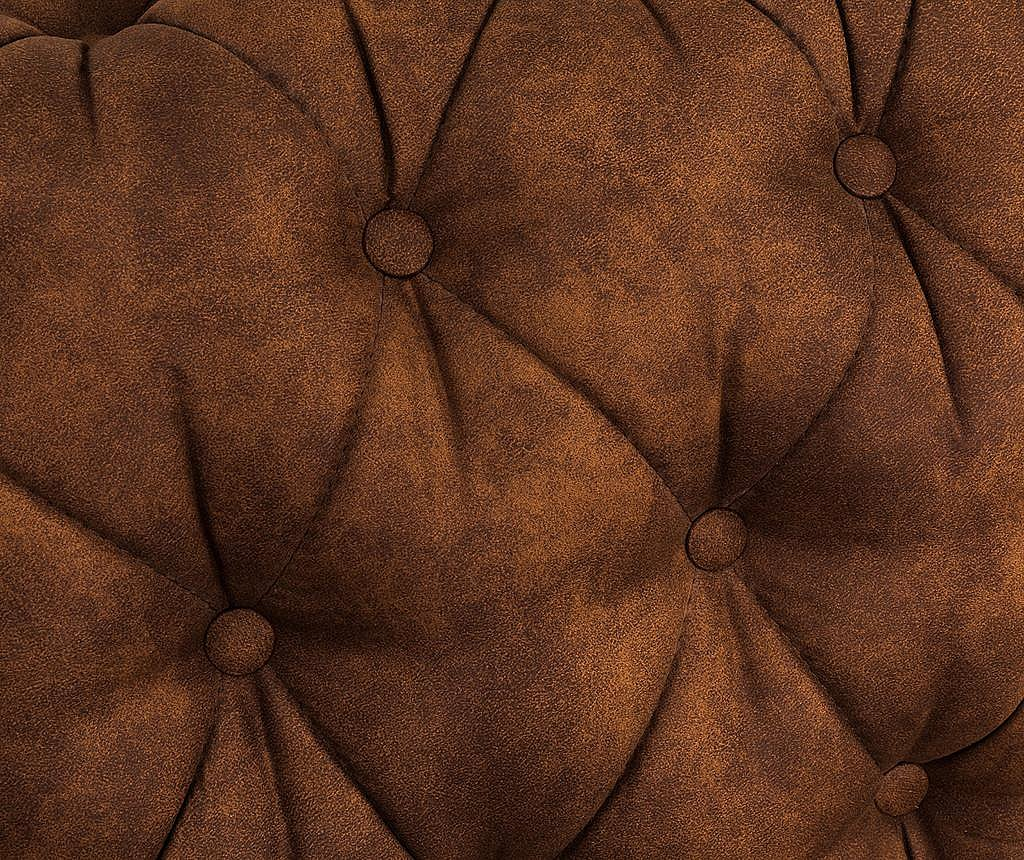 Kanapa czteroosobowa Chesterfield Vintage Cognac