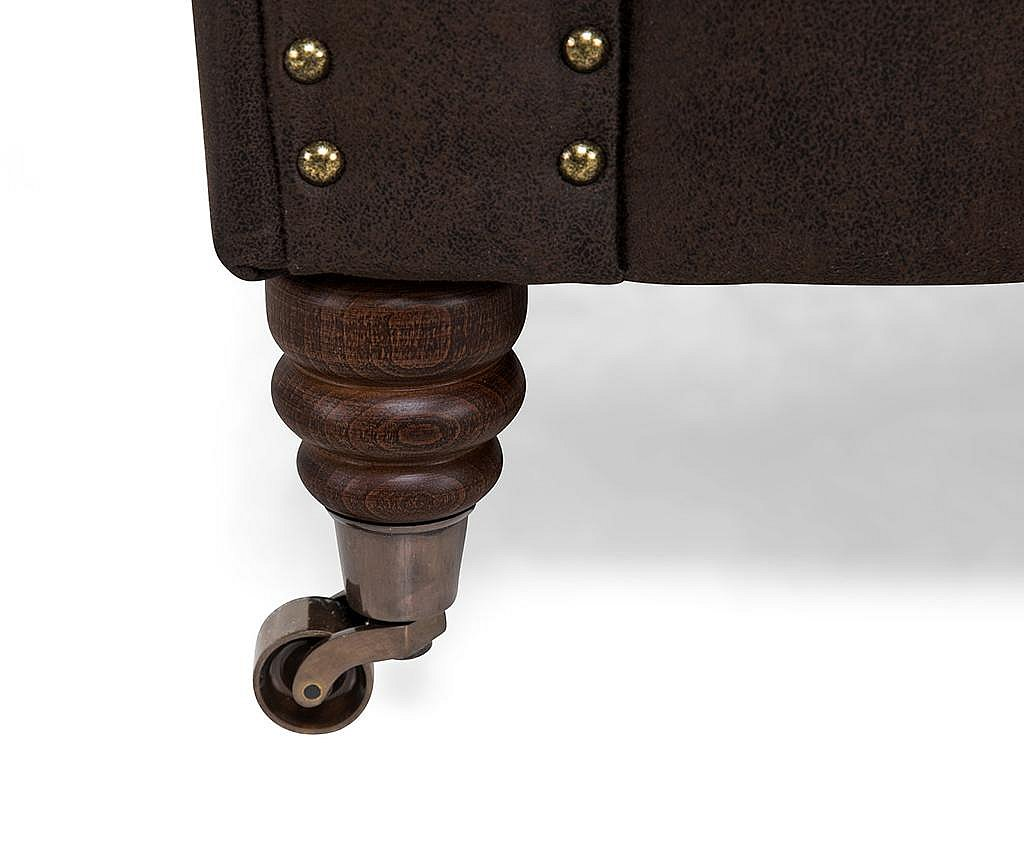 Canapea 3 locuri Chesterfield Vintage Brown