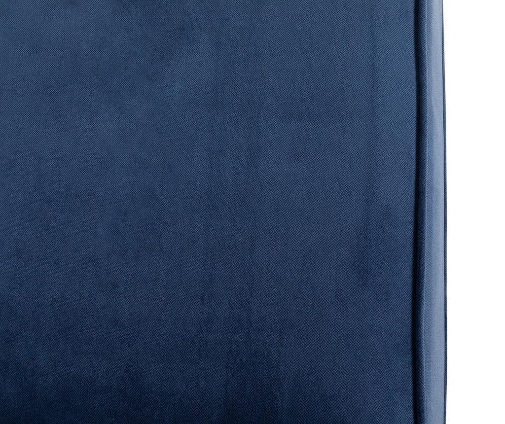 Kanapa 3-osobowa Chesterfield Petrol Blue
