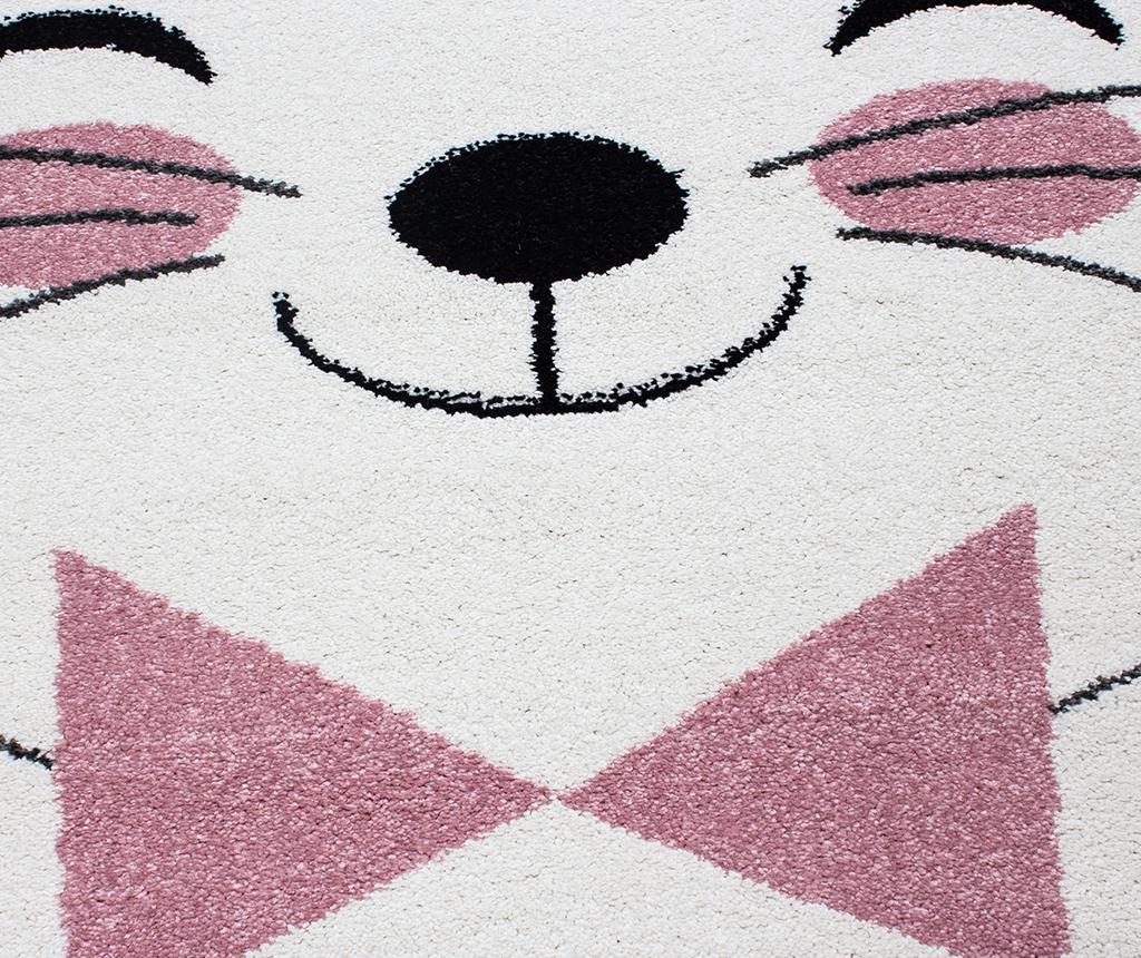 Tepih Kitty Round Pink 120 cm