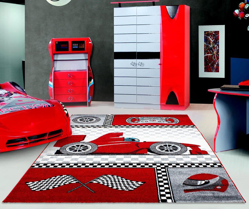 Tepih Racer Red 120x170 cm