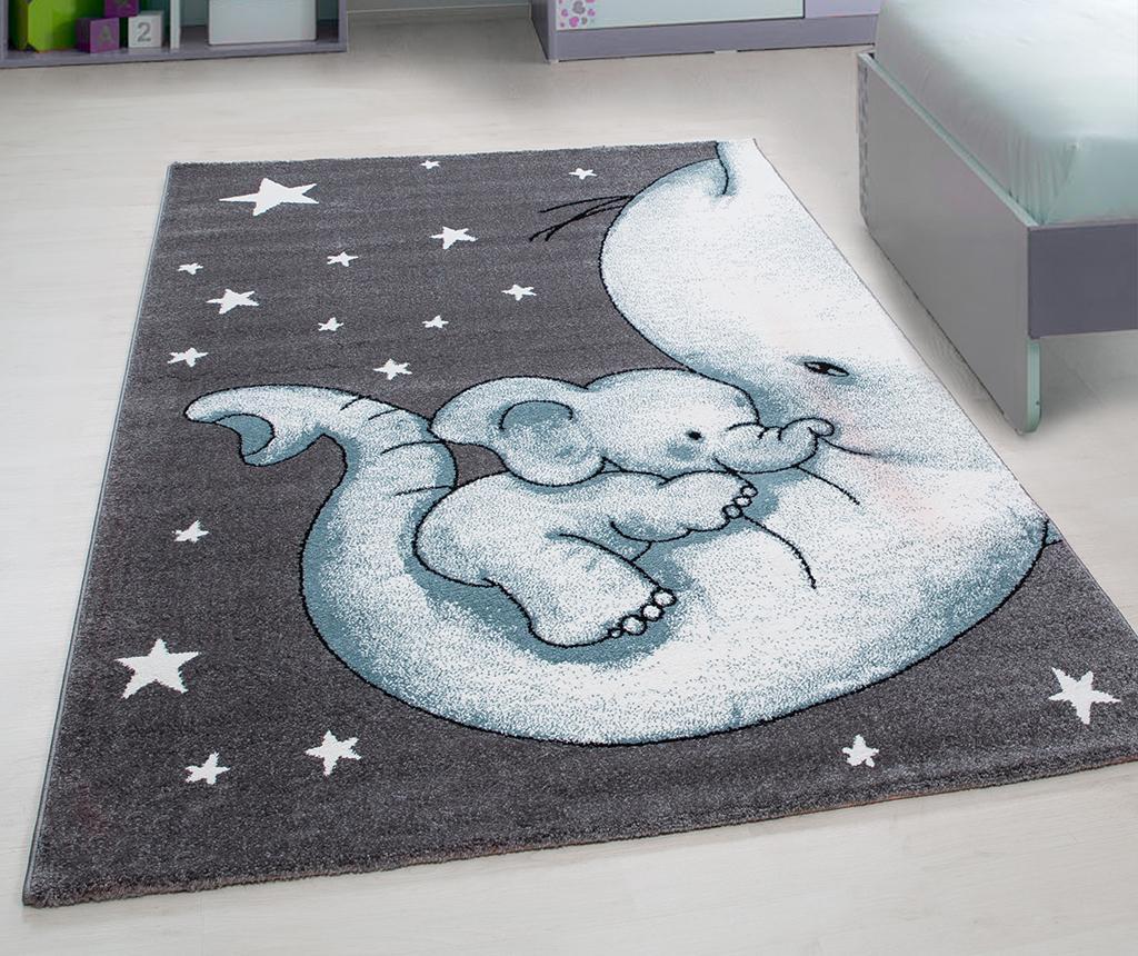 Tepih Baby Elephant Blue 120x170 cm